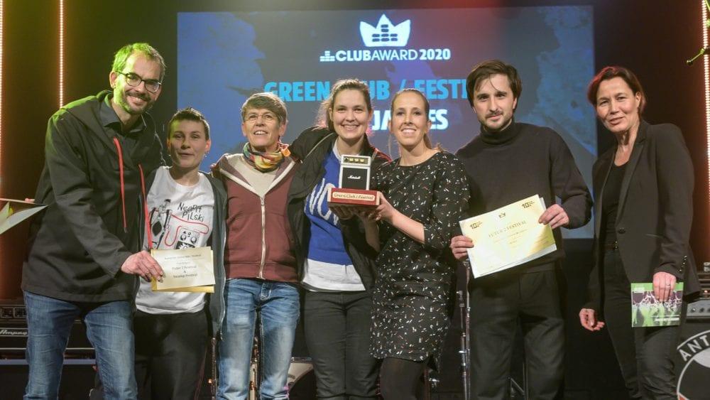 Green Club Award Preisträger