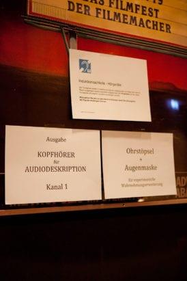 KLAPPE AUF! Kurzfilmfestival - Kopfhörer